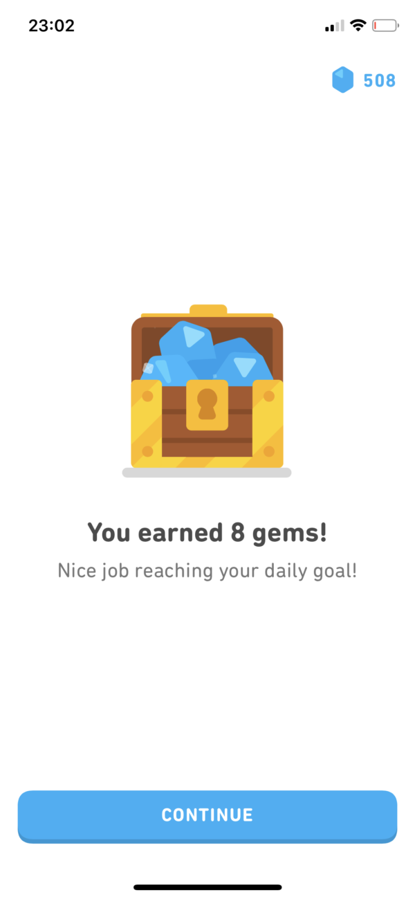 Duolingo Reward screenshot