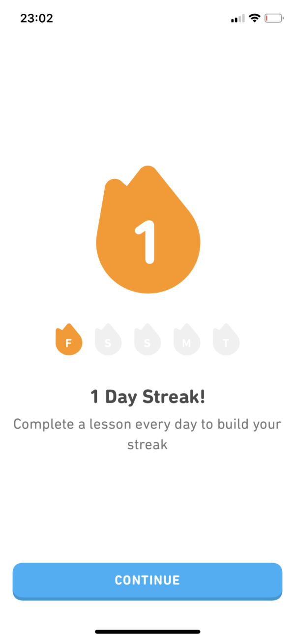 Duolingo Streak screenshot