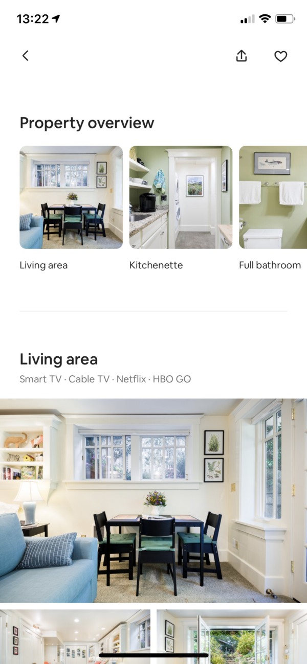 Airbnb Gallery screenshot