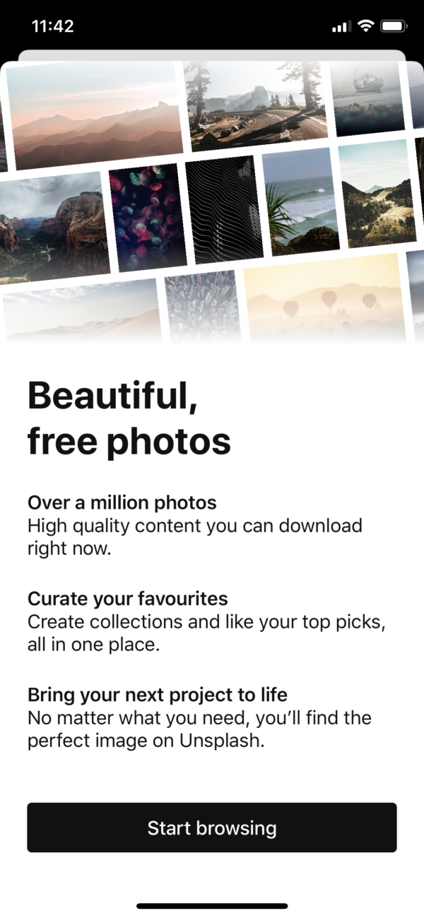 Unsplash Beautiful, free photos screenshot