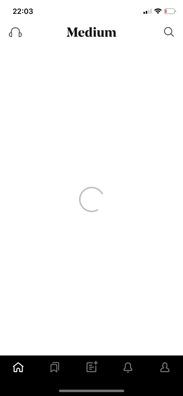 Medium Loading screenshot