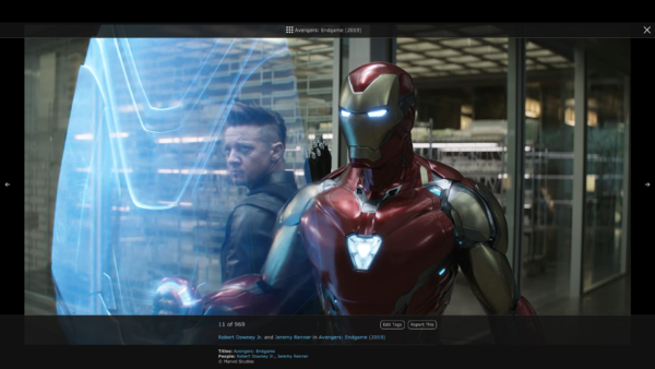 IMDB Image viewer screenshot