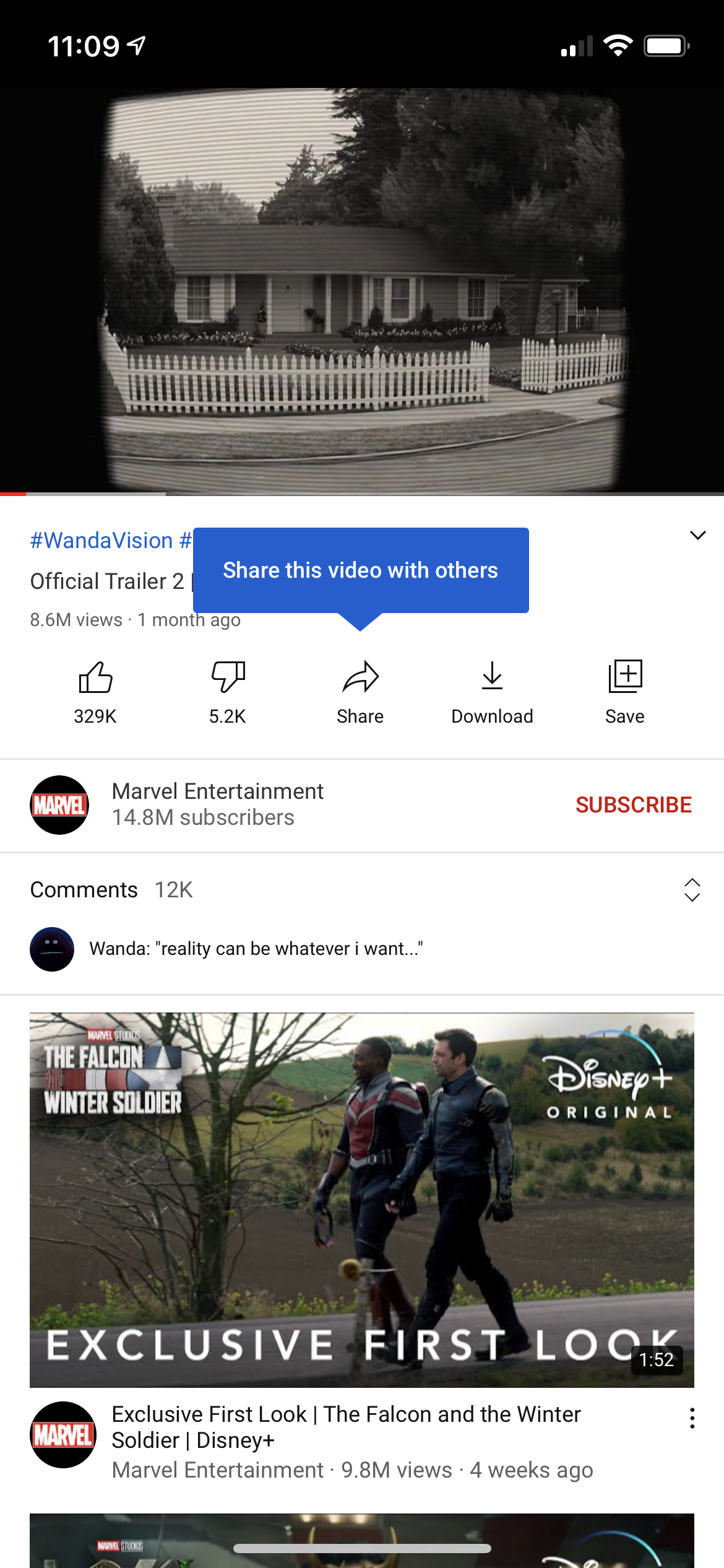 Share this video with others screenshot