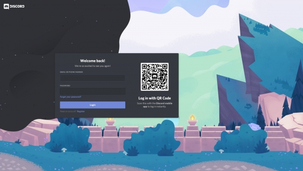 Discord Welcome back! screenshot