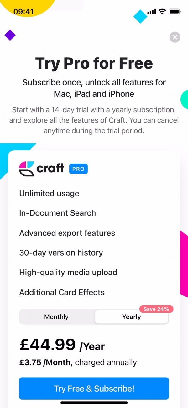 Craft Try pro for free screenshot